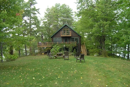 Cozy Lake Ossipee All Season Cabin - Ossipee - House