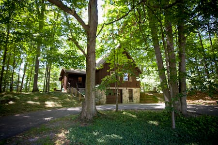 Treehouse Near Town & Torch Lake - Spacious & Cozy - Bellaire - Haus