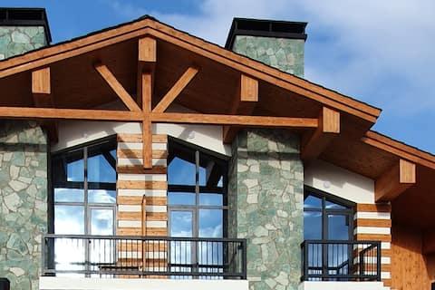 Residência de montanha para famílias grandes e amigos