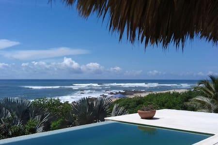 Puerto Escondido beachfront house