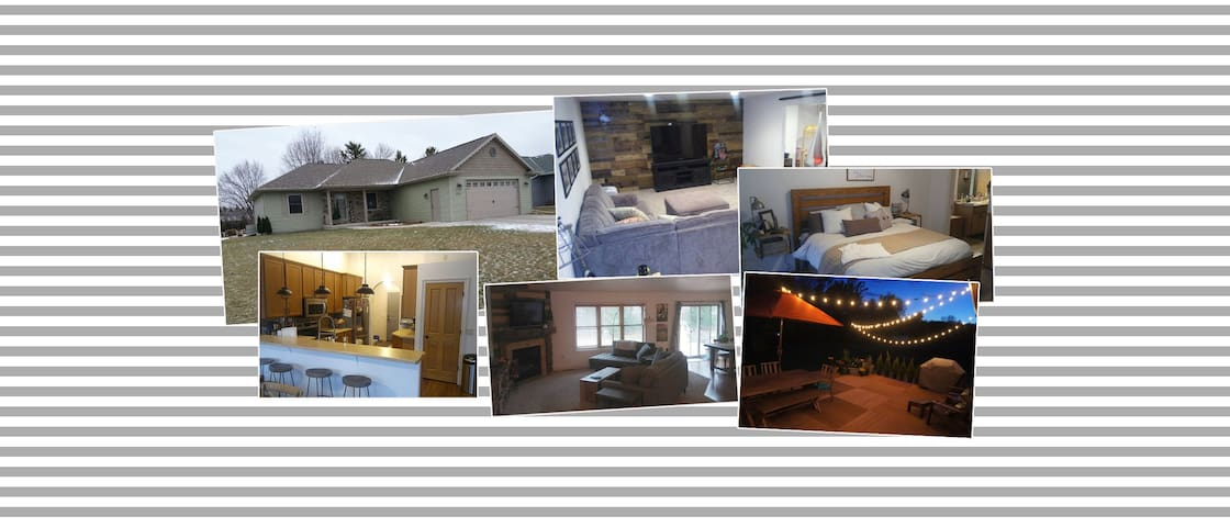 Trendy, spacious home for rent for EAA AirVenture