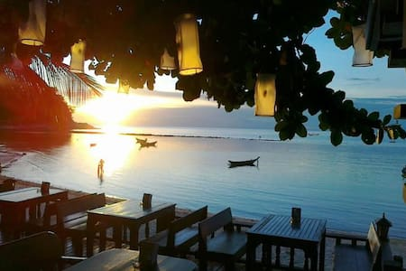 Bungalow on the beach - Ko Pha-ngan - Bed & Breakfast