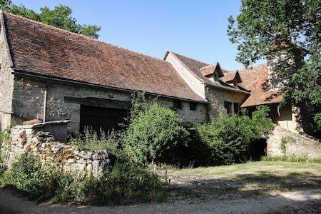 Chambre dans une maison Quercynoise - Montsalès - Casa