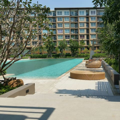 Baan thew lom 200 m from beach - Cha-am - Apartamento