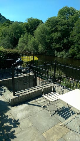 River Garden Apartment - Llangollen
