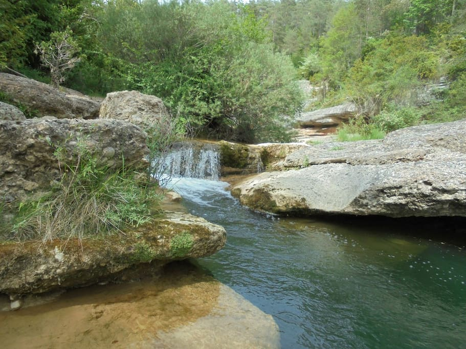 The Merles river, good place for swim.