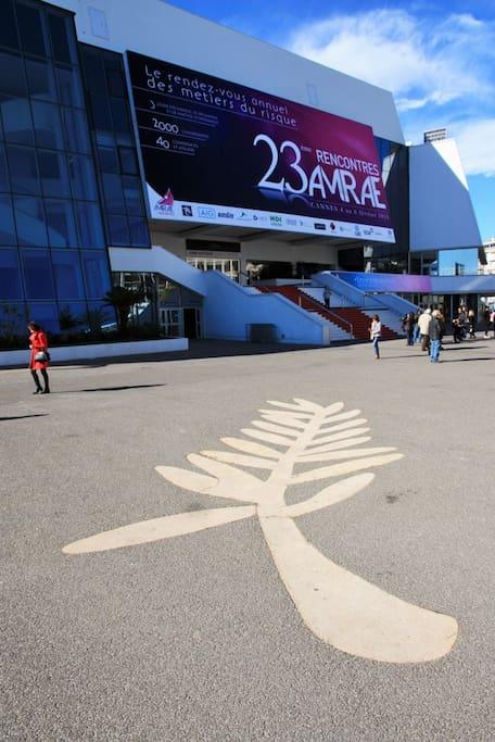 Cannes à 20mn pour une balade sur la Croisette