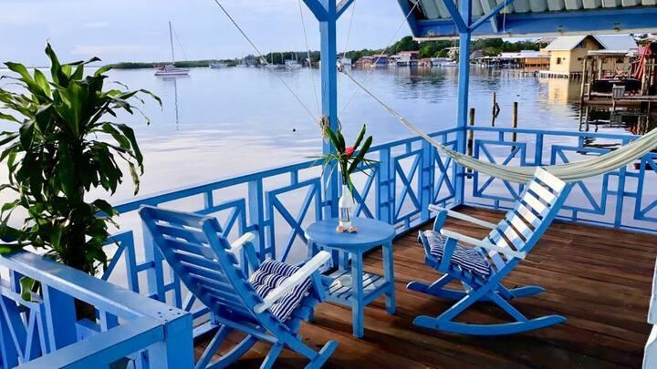 LAS OLAS private cabins over the water