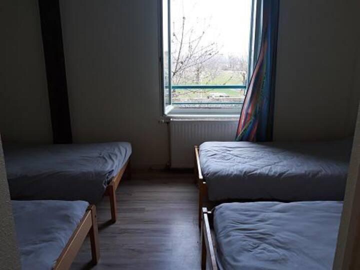 Gîte-Standard-Ensuite-Mountain View-au 1 étage