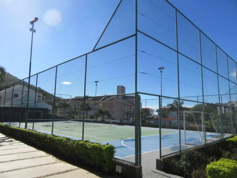 Quadra Tênis / Futebol