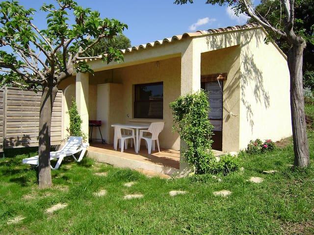 Mini Villa Arbousier 2 pax vue mer - Calvi
