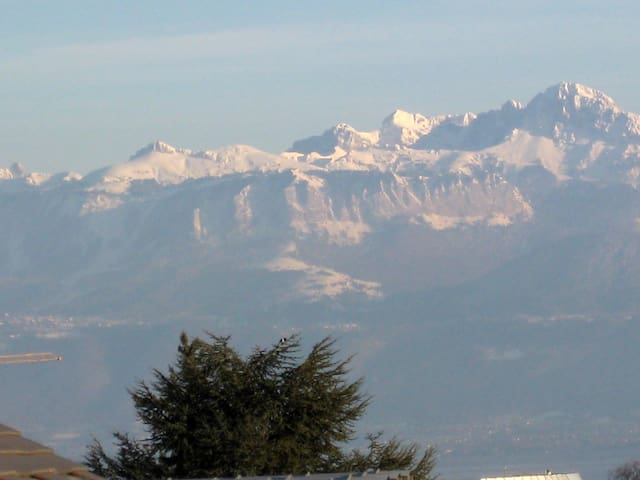 Mont Blanc - View from the Room n° One