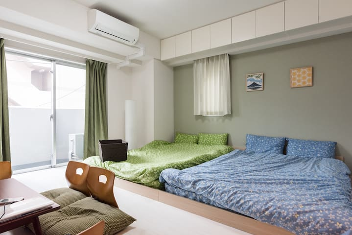 Near SKYTREE/5 mins from ASAKUSA station/Free WiFi - Sumida-ku