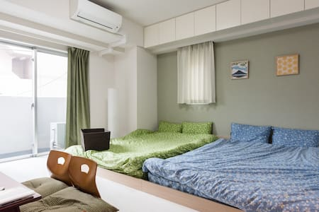 Near SKYTREE/5 mins from ASAKUSA station/Free WiFi - Apartmen