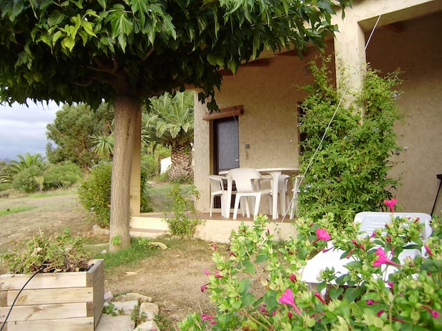 Mini Villa Ciste 2 pax vue mer - Calvi - House