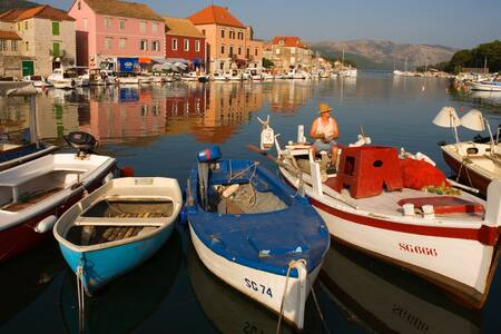 Hvar Island- fabulous Villa Mjesto, - Selca kod Starog Grada - Villa