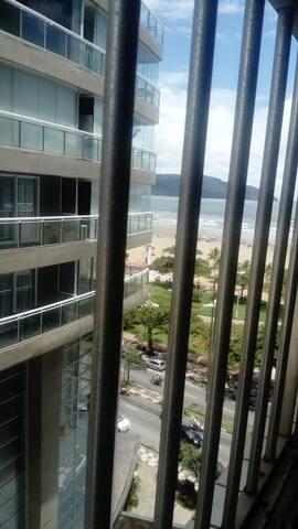 apartamento, kitnet, praia  José menino, Santos