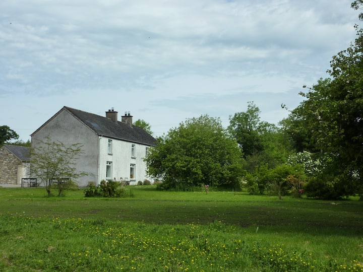 Loughside house on 4 acres with private jetty