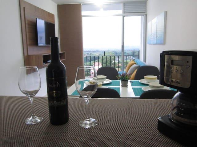 Apartamento con hermosa vista al eje cafetero
