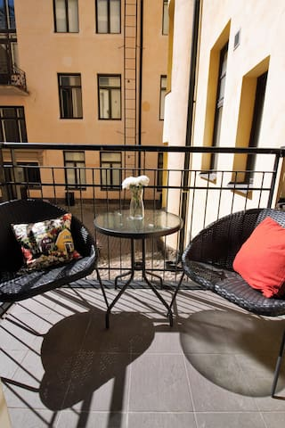 Gorgeous apartment with sauna in Helsinki center