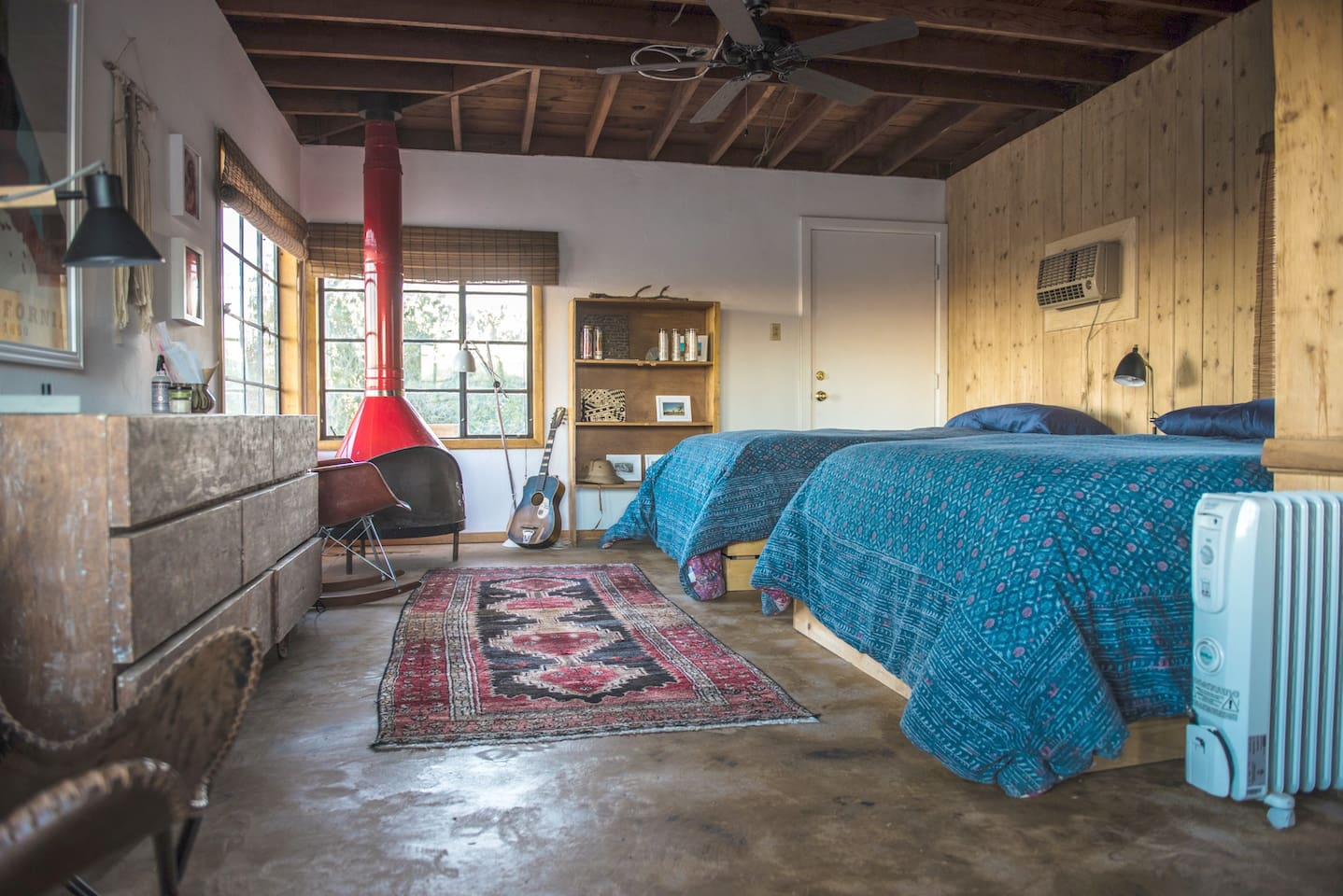 Mid-Century Hiking & Camping Cabin in Joshua Tree - Cabins for Rent ...