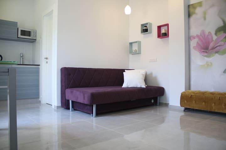 Elegant studio with private terrace