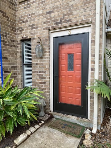 The Orange Door at Maplewood