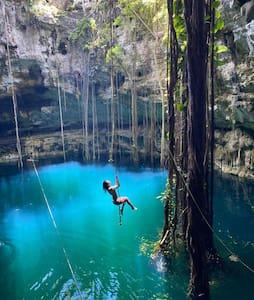 Hacienda San Lorenzo Oxman with Cenote!