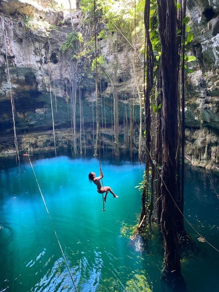 Hacienda San Lorenzo Oxman con Cenote
