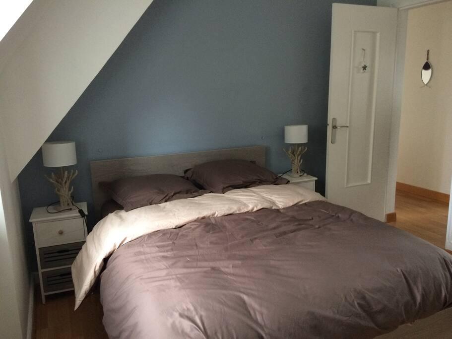 Chambre 2 avec 1 lit double