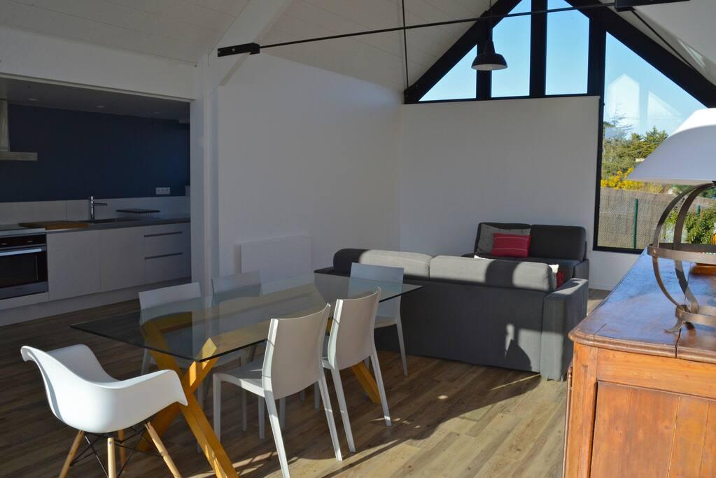 Maison d 39 architecte vue pleine mer houses for rent in saint jacut de la mer brittany france - Maison architecte mark dziewulski ...