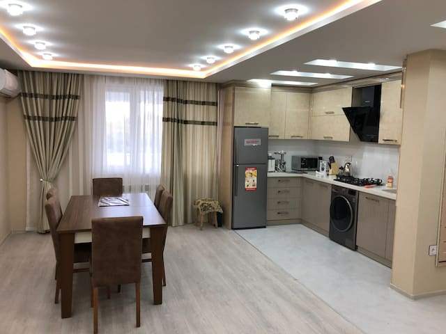 Just renovated apartment in the center of Baku.