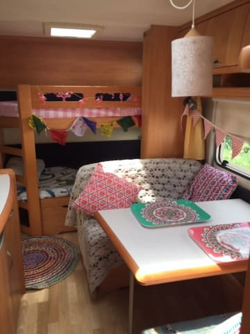 glamping caravan