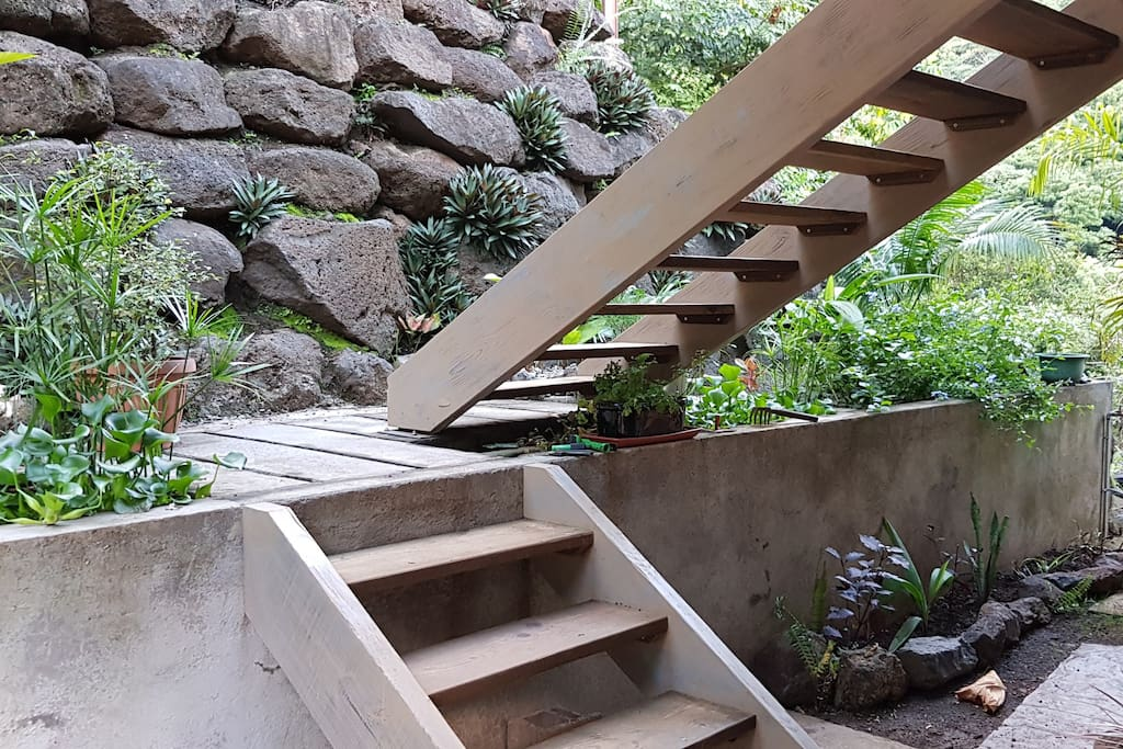 Escaliers en bois / wooden stairs