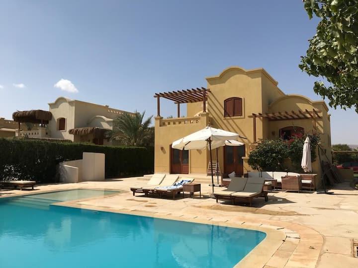 A Gorgeous Villa in Gouna