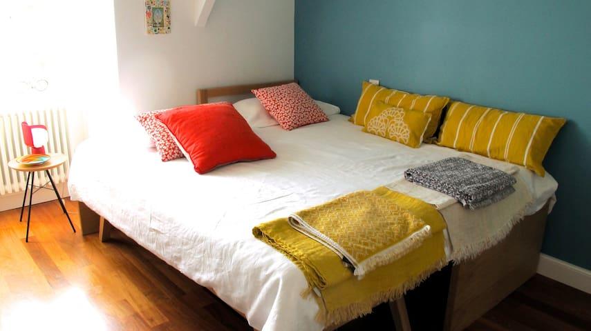 1 chambre dans  maison  Rennes Jardin du Thabor.