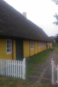 Stort gammelt Fanøhus med stor have - Fanø - Huis