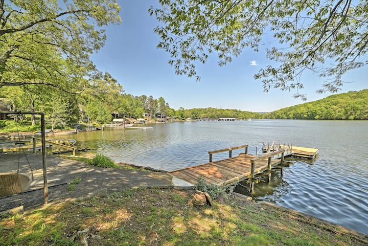 Serene Lakefront Harrison Cottage w/ Dock & Views!
