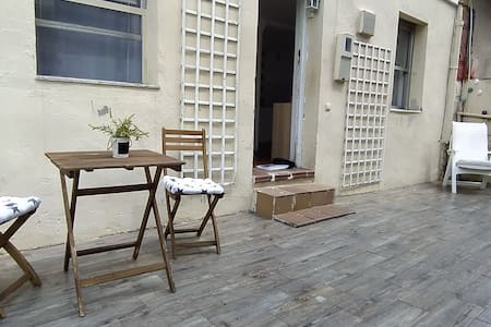 I rent a complete house with PATIO