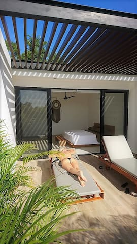 Rooftop with separate terrace to enjoy the sun in complete privacy