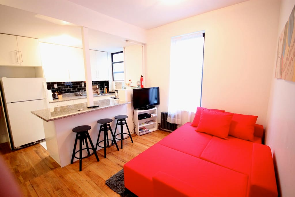 Near central park 6 people washer apartments for rent for Apartments near central park