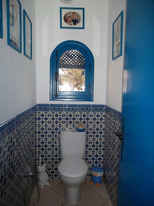 Suite du paon: WC