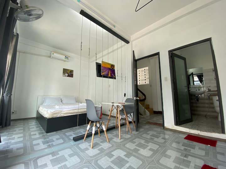 Cho thuê căn hộ gía rẻ trung tâm Nha Trang
