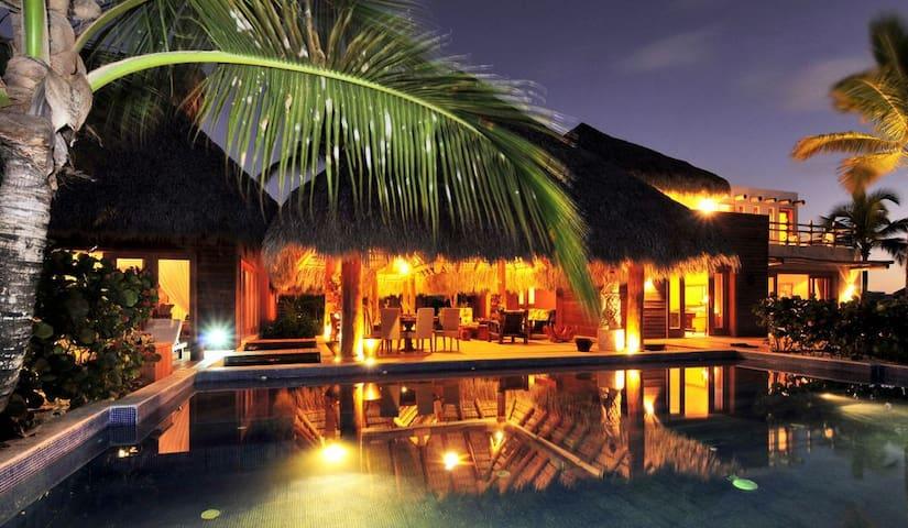 Villa Iguana, lujo caribeño en Golf Punta Espada