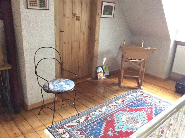 Zimmer in alter Dorfschule
