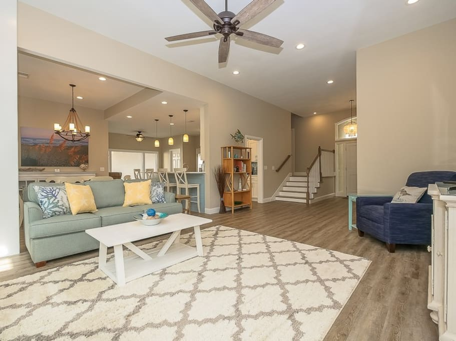 Open Main Living Area at 22 Shell Ring