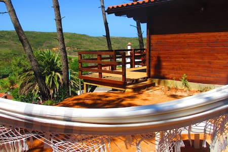 Woodenlodge with Sea&Landview - Carvoeira