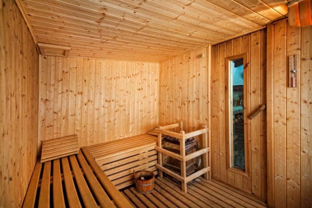 sauna 6 persone