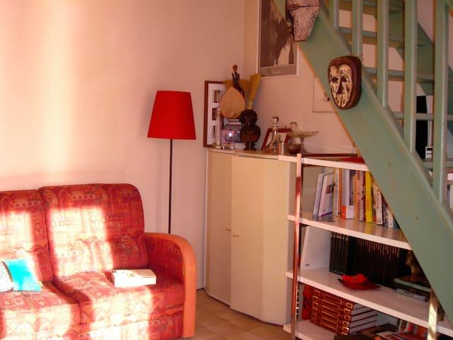 Studio avec mezzanine sous  toit - Le Pré-Saint-Gervais - Lägenhet