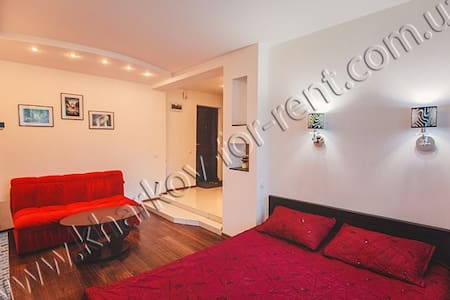 Studio & jacuzzi, 23 of August str - Kharkiv - Appartement
